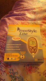 Free style lite blood tester brand new in Watertown, New York