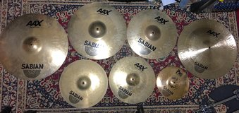 Sabian Cymbal Set / barely used in home. in Okinawa, Japan