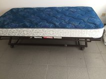 Trundle bed frame + mattress in Ramstein, Germany