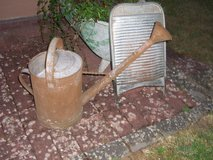 washboard & watering can in Ramstein, Germany