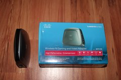 Cisco-Linksys WET610N Dual-Band Wireless-N Gaming and Video Adapter - $20 OBO in Ramstein, Germany