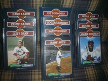 Legends of Baseball by Chelsea House Publishers (1991) in Warner Robins, Georgia