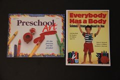 Preschool Education Books x 2 in Stuttgart, GE