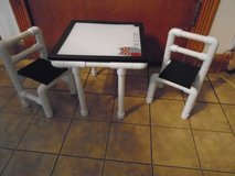 One of a kind Doll Table and Chairs with dry erase table top in Tinley Park, Illinois
