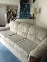 Queen Sofa Sleeper with Two Matching Recliners in Naperville, Illinois