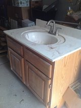 Bathroom vanity w/ faucet in Aurora, Illinois