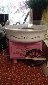 Cotton candy maker in Watertown, New York
