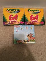 3-NIB Crayola 64 Crayons with Built-In-Sharpener in Camp Lejeune, North Carolina