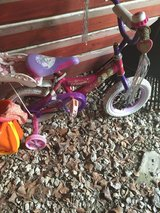 Princess toddler bike in Camp Lejeune, North Carolina