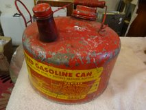 Vintage Red Gas Can in Bartlett, Illinois