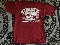 Obey Tshirt men's med in Travis AFB, California