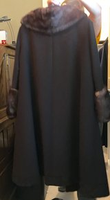 Mink/wool dress coat. REDUCED in Glendale Heights, Illinois
