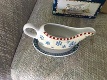 Gravy Boat/Plate  Snowflake Design in Chicago, Illinois