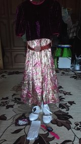 Girl evening dress and shoes /glows/watches/little wallet. in Ramstein, Germany