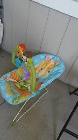 new jungle baby bouncer in Travis AFB, California