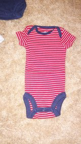 red and white stripe onsie in Travis AFB, California