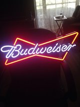 Budweiser Light Up Sign in Warner Robins, Georgia