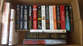 Sandra Brown Titles (see picture) in Fort Rucker, Alabama