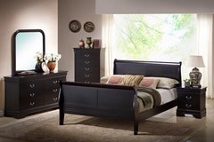 BRAND NEW Queen Sleigh Bedroom Set in Camp Lejeune, North Carolina
