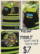NEW kids character scarf, hat, glove sets in Morris, Illinois