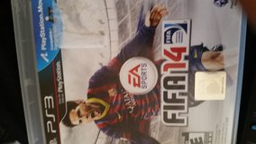 Ps3 fifa14 in Fairfield, California