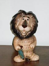 vintage harris lion bank w/stopper in Naperville, Illinois