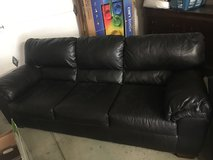 Black Couch with chaise in Travis AFB, California