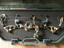 Bear anarchy compound bow in Dyess AFB, Texas