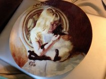 Christi's Kitty Collector Plate by Richard Zolan - 1st issue in the Child's Best Friend Collection in Naperville, Illinois