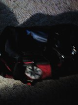 Double size air bed and separate duffle in Alamogordo, New Mexico