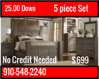 NO Credit check,25.00 down,Furniture and Mattress LIQUIDATION in Cherry Point, North Carolina