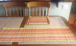 Table Runner and 8 Place Mats in Sacramento, California