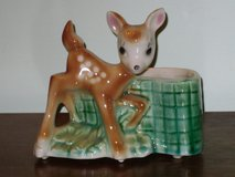 50s fawn planter in Lockport, Illinois