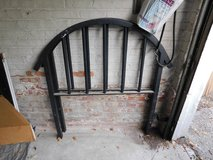 OLD Vintage Metal, Steel, Iron Twin Bed HEAD &FOOTBOARD. Art Deco in Chicago, Illinois