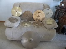 VARIETY OF CYMBALS, RIDE, CRASH, HI-HATS / HIGH HATS & ACCENTS! in Morris, Illinois