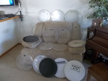 "VARIETY OF 16"" / SIXTEEN INCH FLOOR / LOW TOM DRUM HEADS / SKINS! in Morris, Illinois"