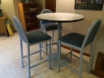 Pub table and 3 chairs in Shorewood, Illinois
