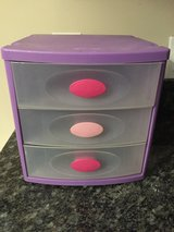 Purple Pink Sterilite Plastic Storage Container in Naperville, Illinois