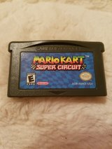 Mario Kart Super Circuit GBA in Davis-Monthan AFB, Arizona