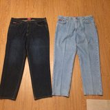 Mens Chaps light blue Jeans size 40x32 in Fort Bliss, Texas