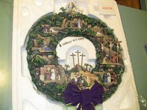 Brand New Musical Bible Story Christmas Wreath in Naperville, Illinois