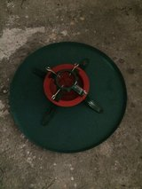 Christmas tree stand and mat in Ramstein, Germany
