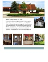 Single Family House for Rent - Nehdorf in Ansbach, Germany
