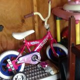 TODDLER BIKE WITH TRAINING WHEELS in Virginia Beach, Virginia