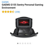 GAEMS G155 Sentry Personal Gaming Environment in Fort Leonard Wood, Missouri