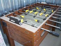 Nice, solid wood Foosball table in Alamogordo, New Mexico