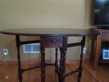 GateLeg Table with drawer in Chicago, Illinois
