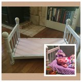 Mini Shabby Chic Bedframe in Fort Leavenworth, Kansas