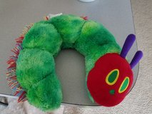 Very Hungry Catipillar Neck Pillow**like new** in Leesville, Louisiana