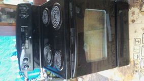 Electric stove in Conroe, Texas